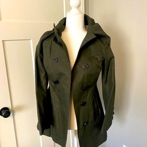 Olive green Soia & Kyo trench